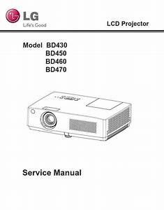 Lg Bd430 Bd450 Bd460 Bd470 Projector Service Manual