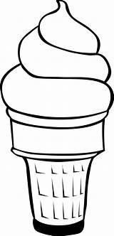 Coloring Ice Cream sketch template