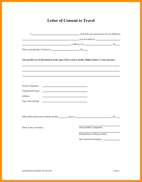 child travel consent letter uk template joshymomoorg