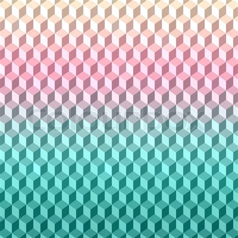 Abstract 3d colorful geometric background Seamless