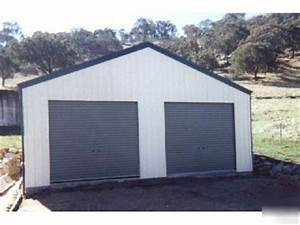 2 car garage steel building kit With 2 car garage building kits