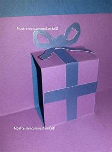 Faire Une Carte : comment faire une carte avec cadeau en 3d pour nol ou pour party invitations ideas ~ Medecine-chirurgie-esthetiques.com Avis de Voitures