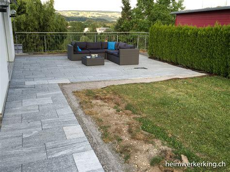 Natursteinplatten Für Gartenterrasse Selbst Verlegen