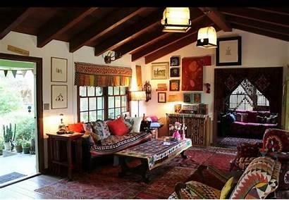 Bohemian Interior Rumah Boho Living Sederhana Minimalis