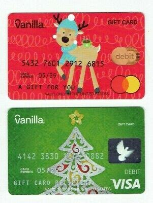 Myvanilladebitcard is a portal website, where the customers can add funds only for the direct deposits and can also manage your card bills on the official website. Vanilla Christmas Debit Gift Card LOT of 2 - Reindeer & Christmas Tree -No Value   eBay