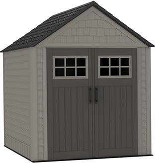 rubbermaid 7 ft x 7 ft big max storage shed 1887154 at the home depot homedepot