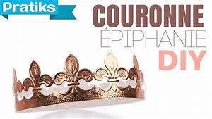Couronne En Papier à Imprimer : comment faire une couronne en papier epiphanie youtube ~ Melissatoandfro.com Idées de Décoration