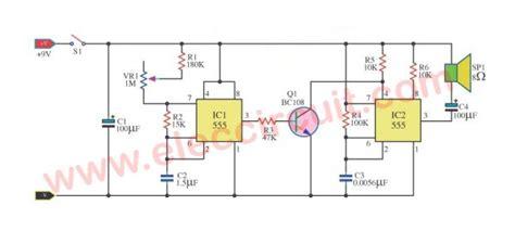 Two Sound Effect Metronome Circuit