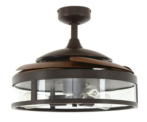 retractable blade ceiling fan retractable blade ceiling fan fanaway classic bronze