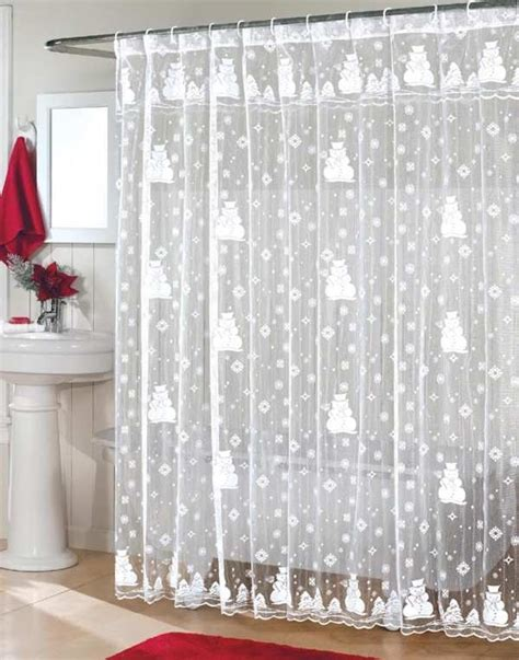 top  beautiful designs  christmas bathroom curtains