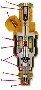 High Performance Fuel Injector Diagram