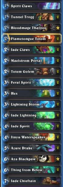 Shaman Murloc Deck September 2017 by Hs Decks And Guides Pro Tips To Own The Meta And Make Legend