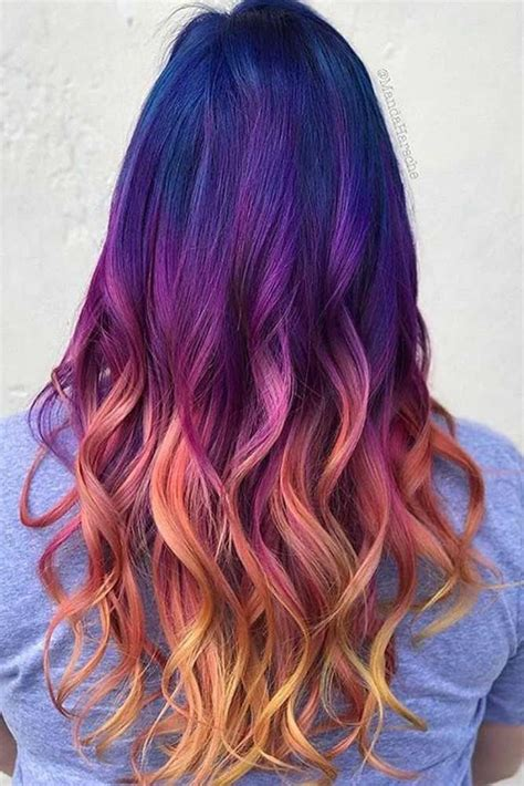 Cool Hairstyles For Ombre Hair by Nouvelle Tendance Coiffures Pour Femme 2017 2018 33