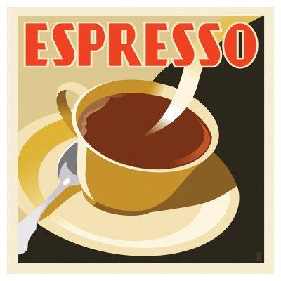 Shop affordable wall art to hang in dorms, bedrooms, offices, or anywhere blank walls aren't welcome. Coffee | Coffee poster, Vintage coffee poster, Art deco posters