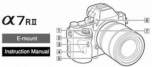 Sony Alpha A7rii Manual Now Available For Download Online