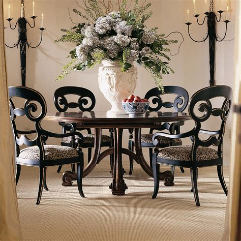 4 chair table set antique round dining table set for 4