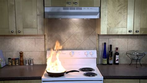 residential fire suppression  range hood youtube