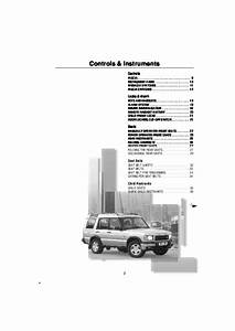 Land Rover Discovery 2 Owners Manual Download