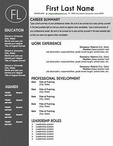 modern sleek resume templates teacher resume template sleek gray and white teacher