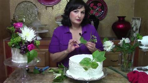 wedding cake  fresh flowers cake decorating youtube