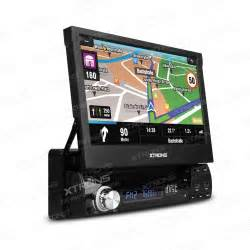 "XTRONS 7"" HD Touch Screen Car DVD Player Radio GPS Navigator 1din Audio Car Stereo DVD automotivo 1 Din"