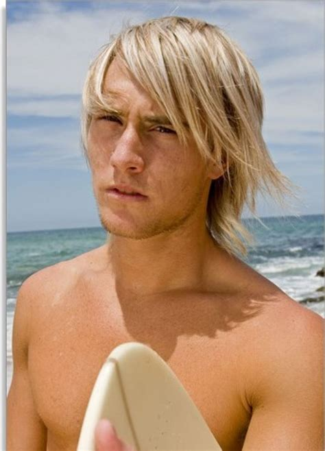 blonde surfer hair style inspiration for men hair