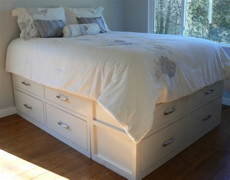 ana white modified queen stratton bed diy projects