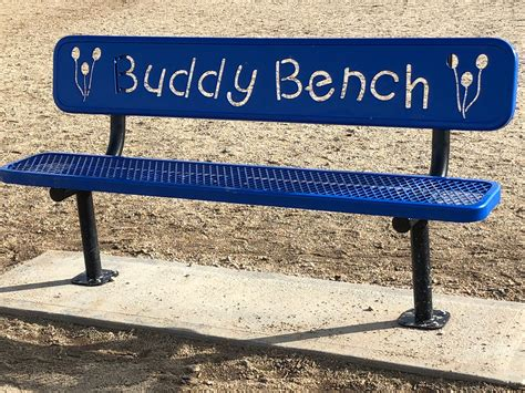 Buddy Bench by Solar Panels Reduced Electric Bills Computers For Local