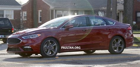 Spied Cd391 Ford Mondeo Facelift, Fully Undisguised Image