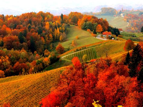 Beautiful Autumn Landscapes Wallpapers by Beautiful Fall Scenery Wallpaper 49 Images