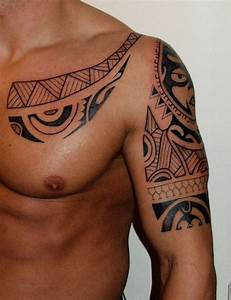 Tatouage Tribal Maorie : tatouage maori sur bras et torse tatouage maori sur ~ Melissatoandfro.com Idées de Décoration