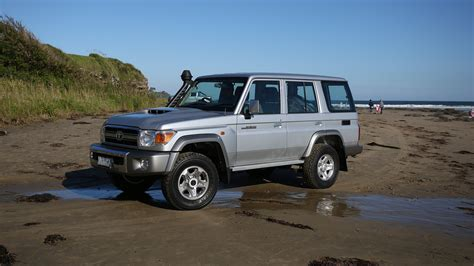 It also offers seating for up to eight passengers; Surfin' Safari in the 2017 Toyota LandCruiser 70 Series ...
