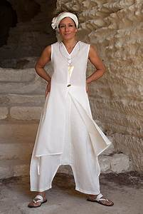 Vêtements En Lin Et Coton : ensemble blanc en voile coton et lin id es de mod les de v tements pinterest voile coton ~ Carolinahurricanesstore.com Idées de Décoration