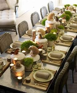 Table De Noel Traditionnelle : d coration de table en hiver 27 id es super sympas confort ~ Melissatoandfro.com Idées de Décoration