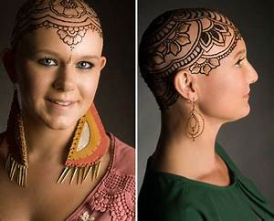 Elegant Henna Tattoo Crowns Help Cancer Patients Cope With ...