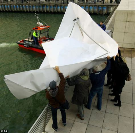 How To Make A Really Big Paper Boat by All Aboard Hms Origami What Happened When We Tested