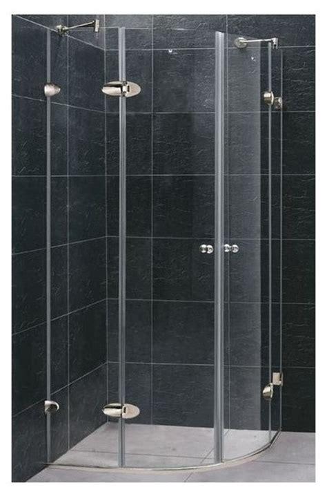Glass Shower Enclosure Kits by Vigo Frameless Neo Clear Glass Shower Enclosure
