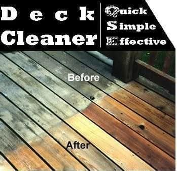 deck cleaner qse deck cleaner  mildew mold algae