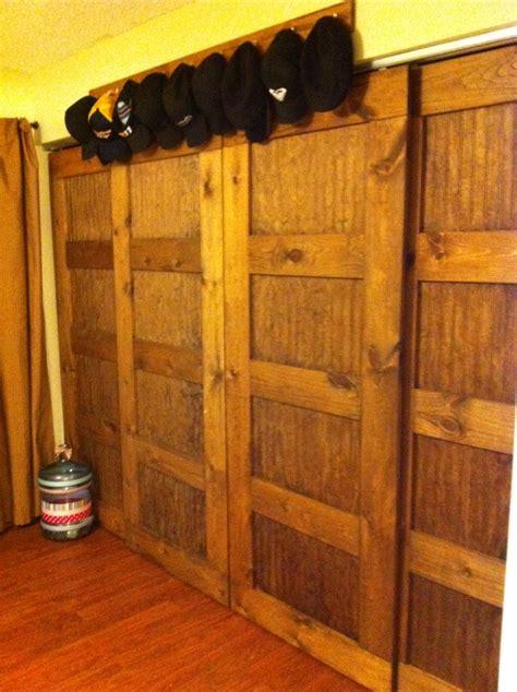 ana white bypass closet doors   hallway  master