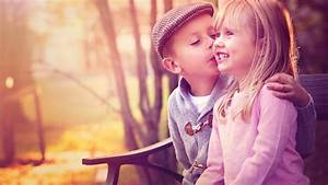 Cute Baby Couple Kissing Nice Love Image New Hd ...