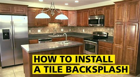 how to install a tile backsplash stanley tools
