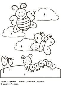 spring worksheet  kids crafts  worksheets  preschooltoddler  kindergarten