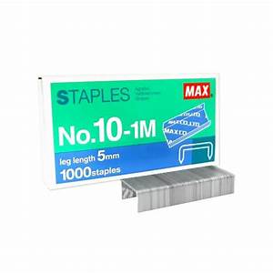 Max Staples Refill No 10 1m