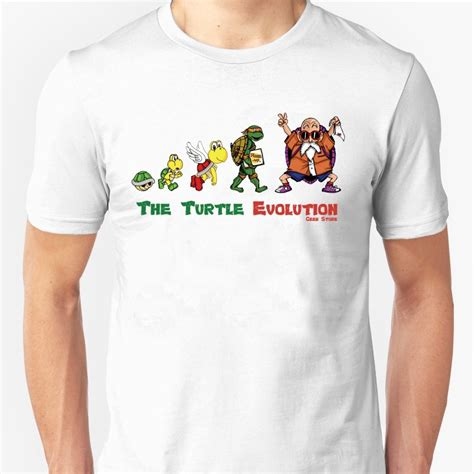 t shirt the turtle evolution