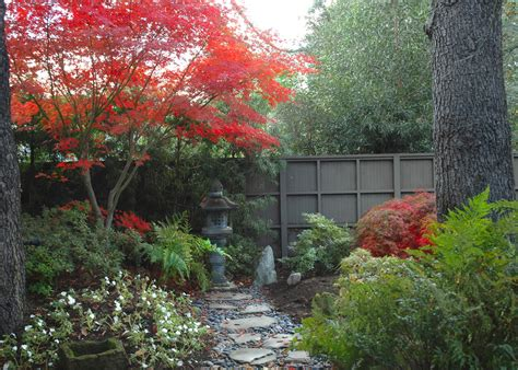 Japanese Garden Statues Landscape Contemporary With Asian