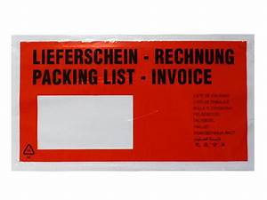 Dhl Lieferschein : begleitpapiertaschen din lang c6 c5 c4 g nstig kaufen ~ Themetempest.com Abrechnung