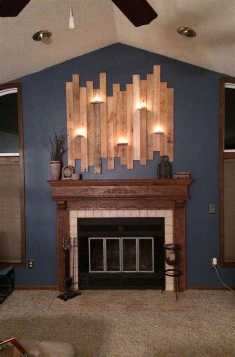 cool diy wall light fixture made of pallet wood diy