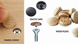 Add a finishing touch to your cabinets with cabinet screw