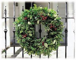 Christmas Holly & Evergreen Christmas Wreath Oregon Holly