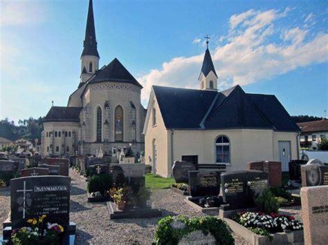 Friedhof Ansichten Palling Katholischer Friedhof
